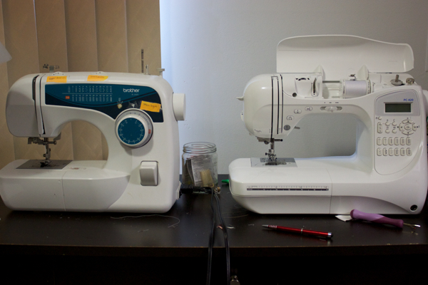 Double Brother sewing machines